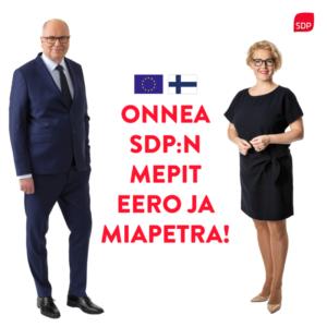Uudet europarlamentaarikot